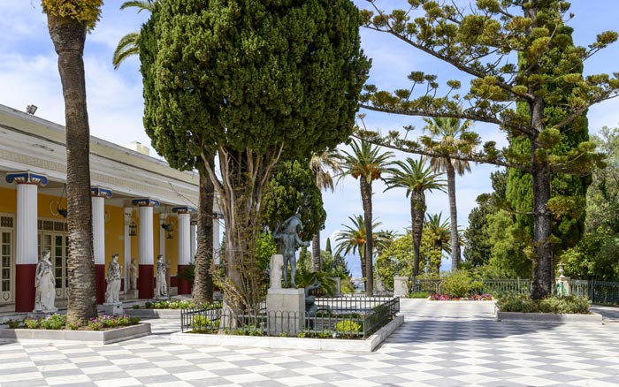 Achilleion Palace in Corfu