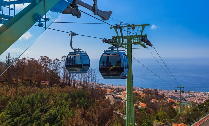Monte Palace and Cable Car in Madeira