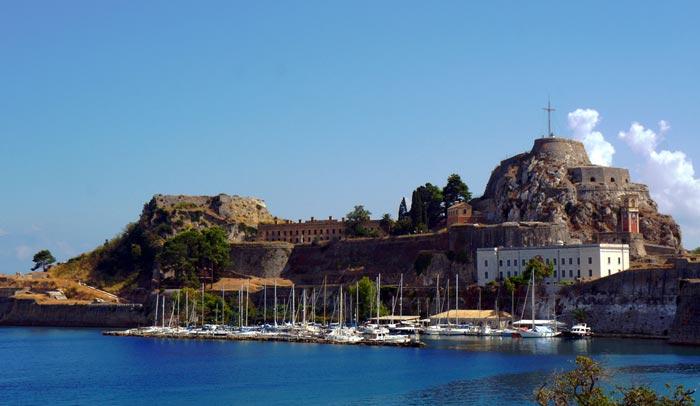Palaio Frourio in Corfu