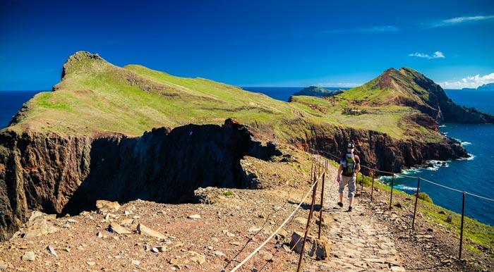 Ponta de Sao Lourenco in Madeira