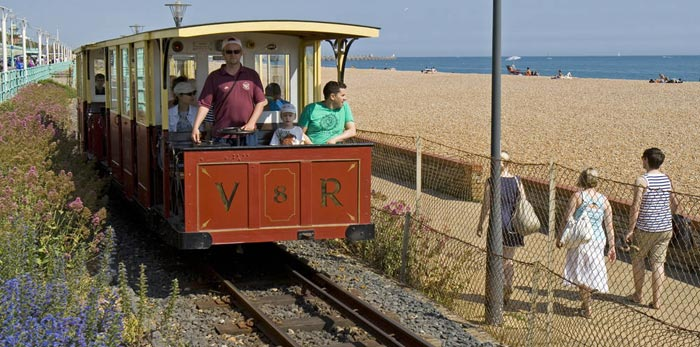 Volk's Electric Railway in Brighton