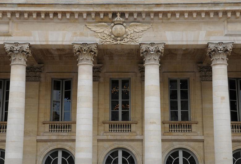 Exterior of Grand Theatre de Bordeaux