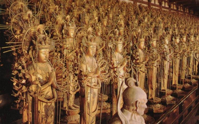 Sanjusangen-do Hall in Kyoto