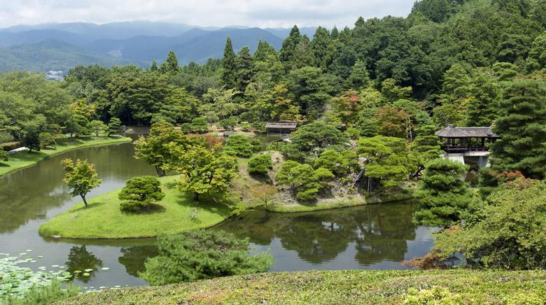 Shugaku-in Imperial Villa in Kyoto