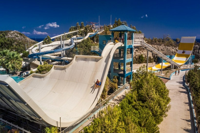 The Water Park in Rhodes