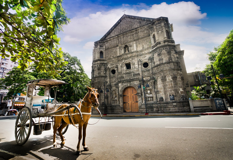 Malate Church in Manila