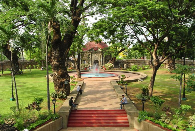 Paco Park in Manila